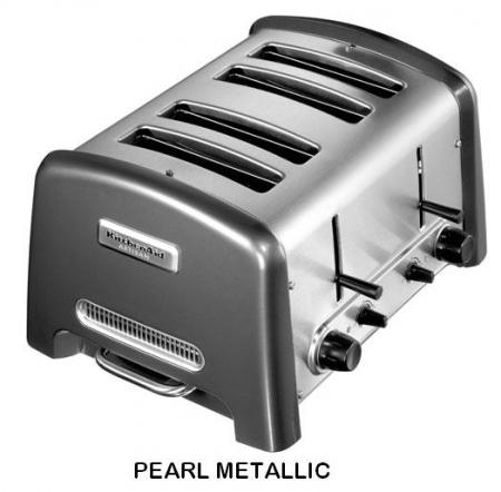 kitchenaid artisan toaster 4 slice. Black Bedroom Furniture Sets. Home Design Ideas